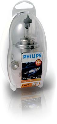 Bild von Ersatzlampenbox H4 [12V] (1 Set) von PHILIPS   1080-2831