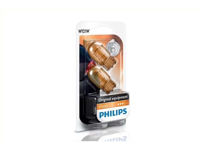 Bild von Glassockel WY21W [12V] (2 Stk.) von PHILIPS   1080-2769
